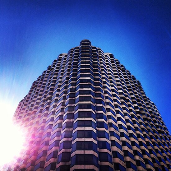 Looking Up in San Francisco by omhafez
