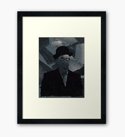 Smart / Casual Framed Print