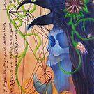 Blackbird Totem by ARTmuffin