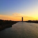 Sunset in Sevilla by omhafez