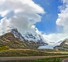 Athabasca Glacier by Gregory Dyer