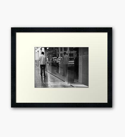 In that Window, there .. Framed Print
