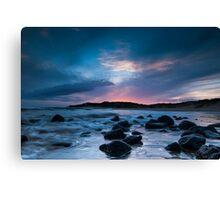 Bancoora's Dusk Tide Canvas Print