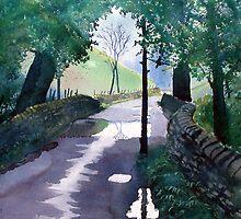 Rainy Day in the Yorkshire Dales by Glenn Marshall