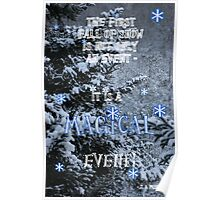 First Snow of  Winter Poster