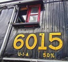 Locomotive in Jasper National Park by Gregory Dyer