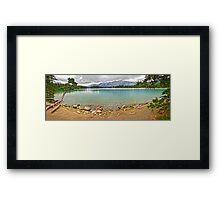 Maligne Lake, Jasper National Park Framed Print