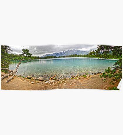 Maligne Lake, Jasper National Park Poster