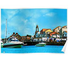 Swanage Sea View Poster