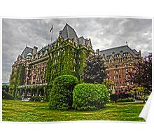 Empress Hotel, Victoria, British Columbia Poster