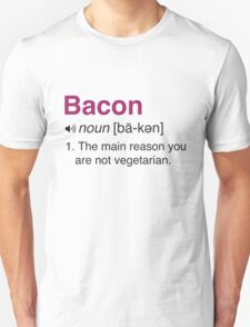 Funny Bacon Definition T-Shirt