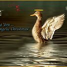 Wishing You an Angelic Christmas by KatMagic Photography