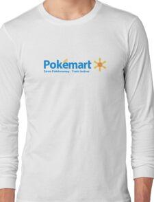 Poké Mart Long Sleeve T-Shirt