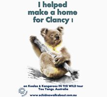 Make a Home for Clancy - light background Unisex T-Shirt