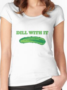 Dill with it Women's Fitted Scoop T-Shirt