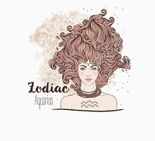 Zodiac Aquarius Womens Fitted T-Shirt