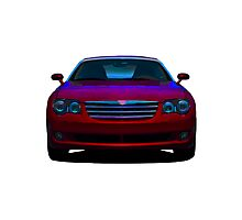 2008 Chrysler Crossfire sports car Photographic Print