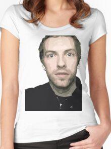 Chris Martin Women's Fitted Scoop T-Shirt