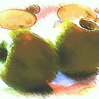Two apples ... still life by OlaG
