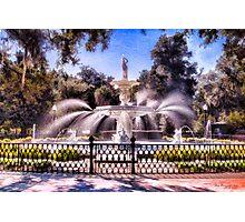 Forsyth Park Fountain Photographic Print