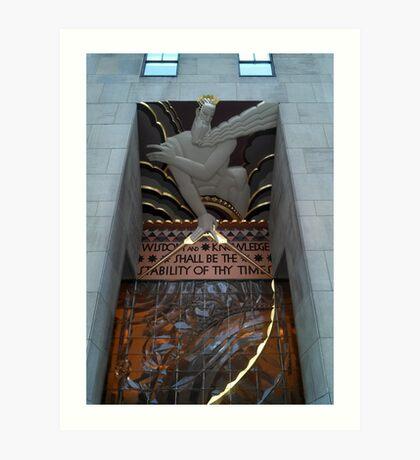 1 Rockefeller Plaza - Rockefeller Center Art Print