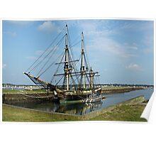 Tall Ship, Salem Mass Poster