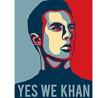 Yes we Khan Photographic Print