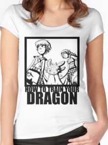 How to Train Your Dragon --Epic Angle  Women's Fitted Scoop T-Shirt