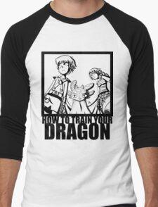 How to Train Your Dragon --Epic Angle  Men's Baseball ¾ T-Shirt