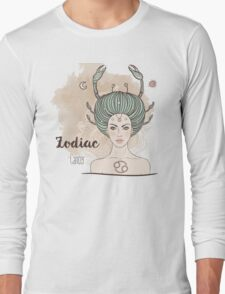 Zodiac Cancer Long Sleeve T-Shirt