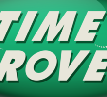 Doctor Who: Time Rover (Green) Sticker