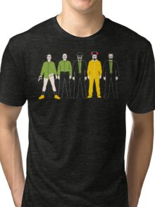 The Evolution of Walter White Tri-blend T-Shirt