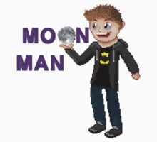Pixelated MoonMan! Kids Clothes