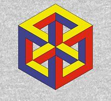 Penrose Cube - Primary Unisex T-Shirt