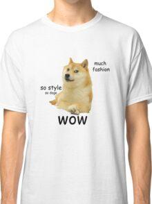 Doge shirt, wow Classic T-Shirt