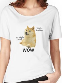 Doge shirt, wow Women's Relaxed Fit T-Shirt