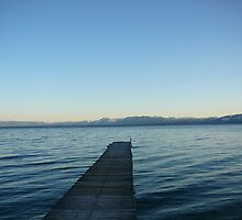 Tahoe Dock by Chad Burrall