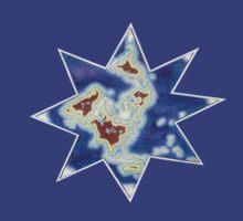 Star world map by David Fraser