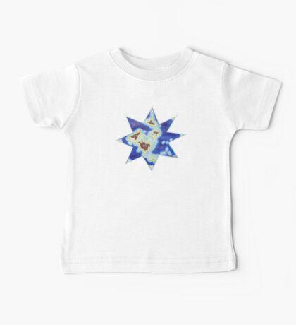 Star world map Kids Clothes