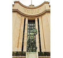 A Sculpture From Place Du Trocadero © Photographic Print