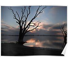 Lake Bonney, Barmera SA Poster