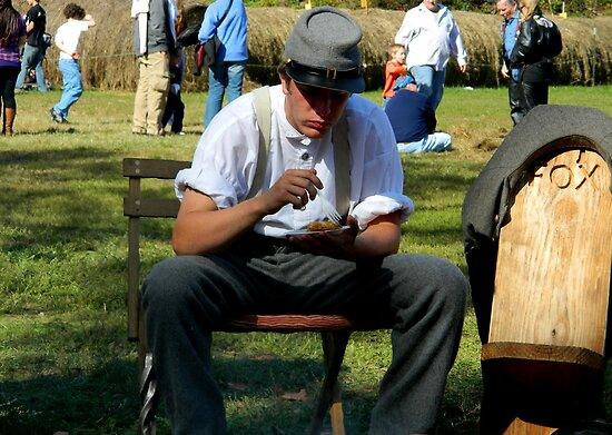 Civil War Re-enactment -taking a break by ctheworld