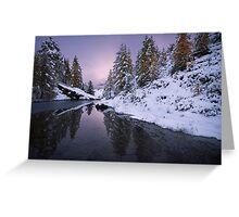 Winter Reverie Greeting Card
