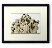 Sculptures In The Jardins Du Trocadero - 1 ©  Framed Print