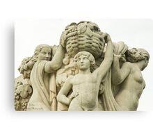 Sculptures In The Jardins Du Trocadero - 1 ©  Canvas Print