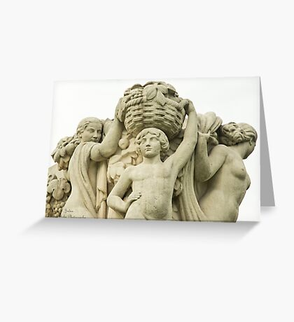 Sculptures In The Jardins Du Trocadero - 1 ©  Greeting Card