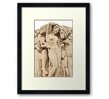 Sculptures In The Jardins Du Trocadero - 2 © Framed Print