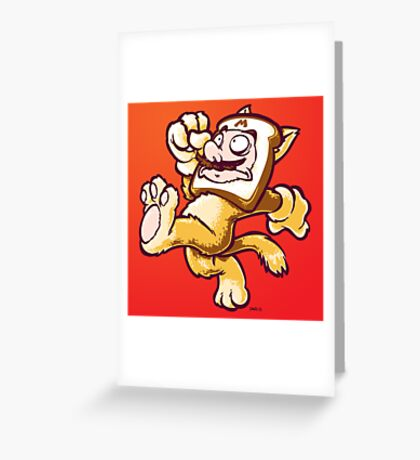 Plumber-Breading Greeting Card