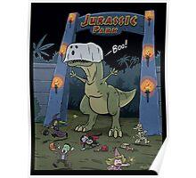 Jurassic Park Halloween Poster