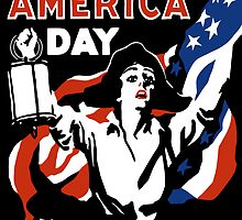 Wake Up America Day -- WW1 by warishellstore
